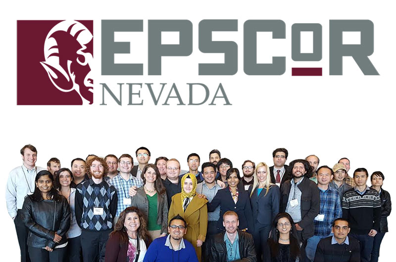 EPSCoR Nevada Group photo showing a diverse group of mentors